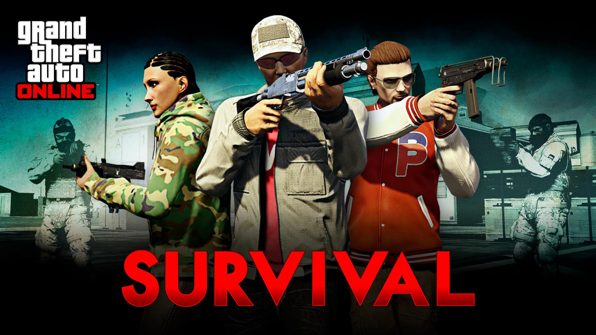 gta online 2x supervivencias