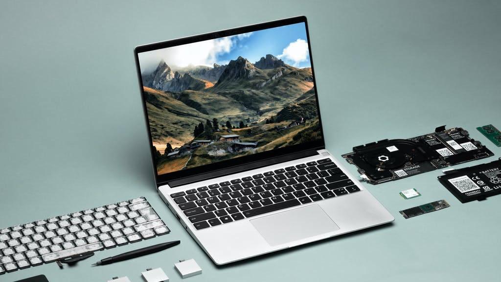 Tienes que ver esta computadora portátil que puedes construir y actualizar tú mismo