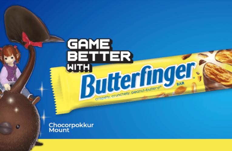 Final Fantasy XIV Online obtiene el DLC Butterfinger en forma de montura hecha de chocolate