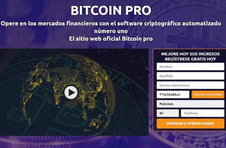 Bitcoin Pro Opinions – ¿Confiable o una estafa?