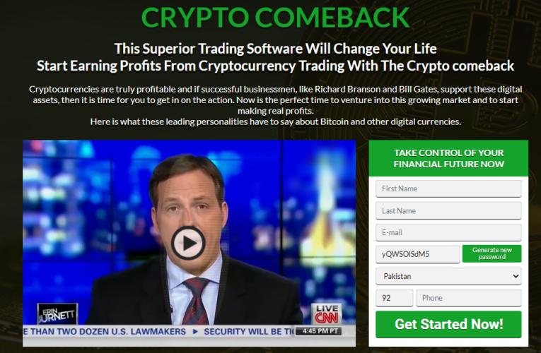 Crypto Comeback Opinions – Confiable o es una estafa? (2021)