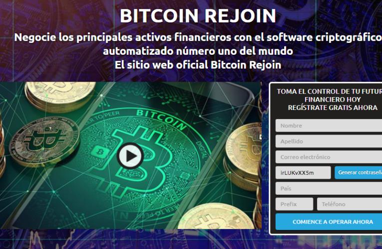 bitcoin rejoin Opinions – Confiable o es una estafa? (2021)