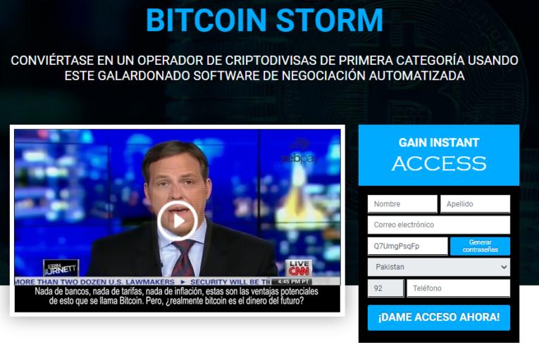 Bitcoin Storm Opinions – Confiable o es una estafa? (2021)