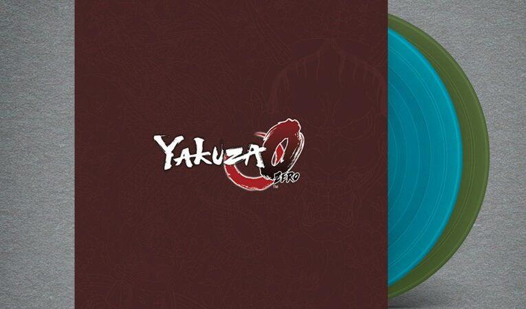 Estos sets de vinilo Yakuza 0 te permiten rockear con estilo en los 80