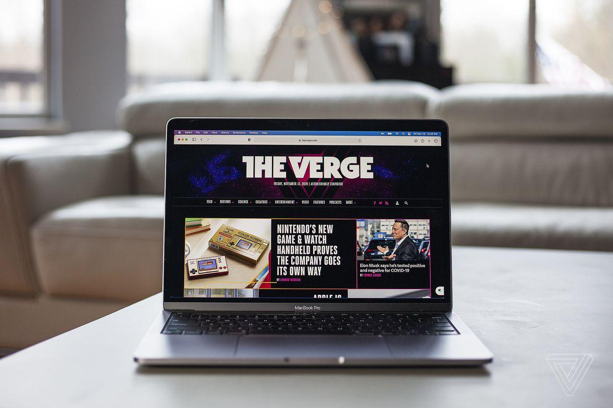 Las mejores computadoras portátiles de 2020: Apple MacBook Pro (finales de 2020)