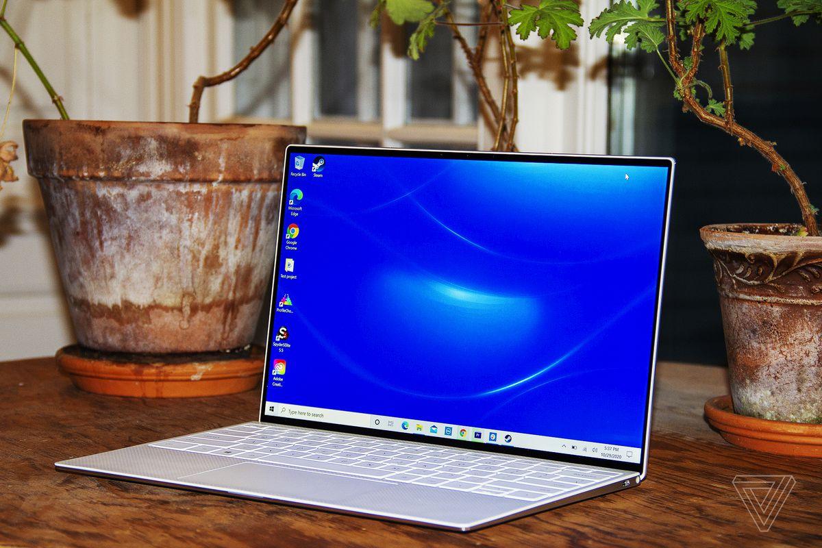 Las mejores computadoras portátiles de 2020: Dell XPS 13 (finales de 2020)