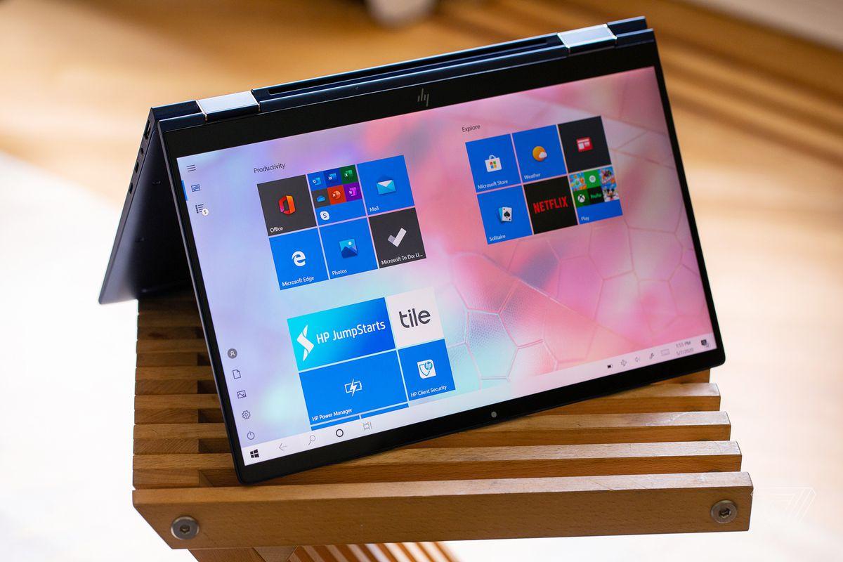 Las mejores computadoras portátiles de 2020: HP Elite Dragonfly (2020)