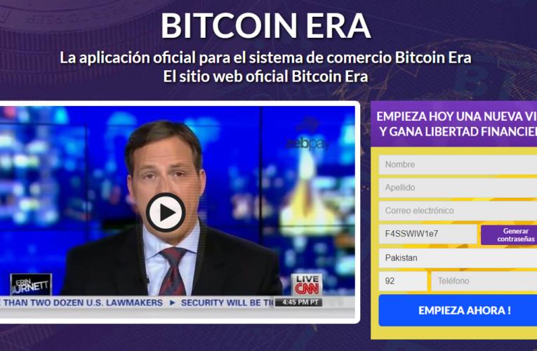 Revisión de Bitcoin Era 2021-¿Legitimidad o estafa? ¿Funciona realmente este software?