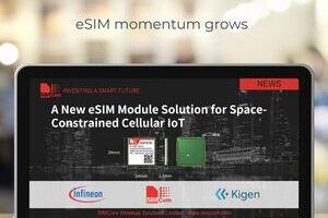Nueva solución de módulo eSIM para IoT celular con limitaciones de espacio