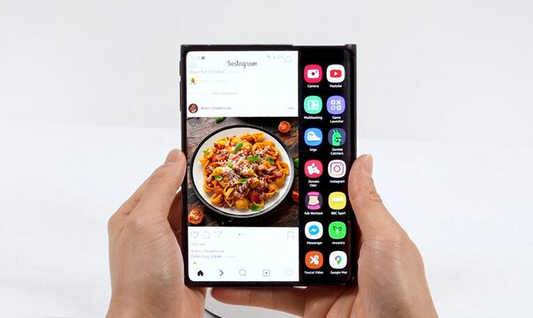 Patente sugiere que Samsung está avanzando con planes de teléfonos enrollables