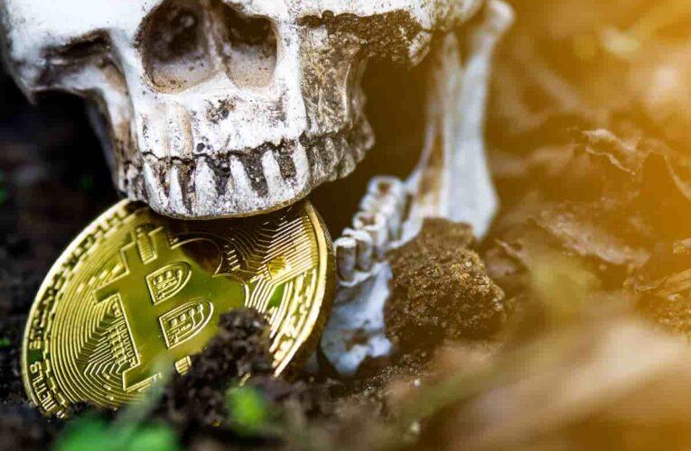 """La """"Cruz de la Muerte"""" de Bitcoin ha llegado, vea razones para no preocuparse"""
