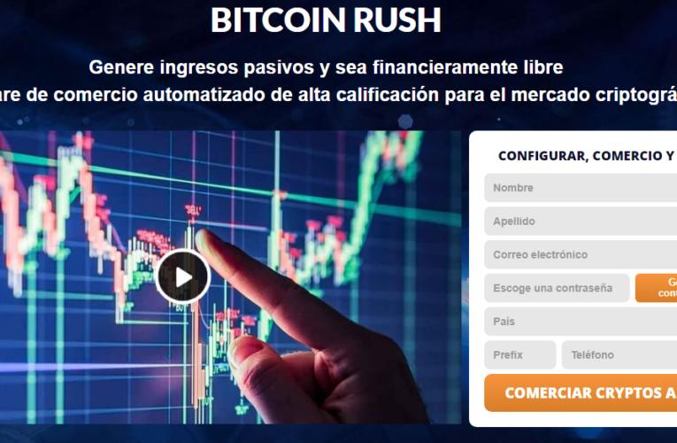 Bitcoin Rush revisión 2021-Legit o estafa? ¿Este software realmente funciona?