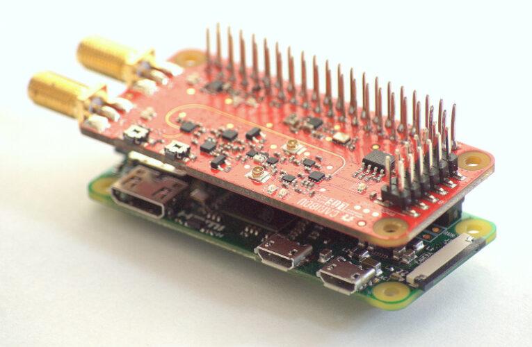 Raspberry Pi Hat agrega SDR con acceso a memoria de alta velocidad
