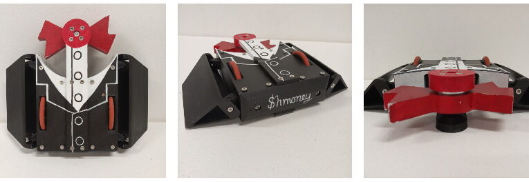 Raspberry Pi Zero toma el volante en un robot de combate en miniatura