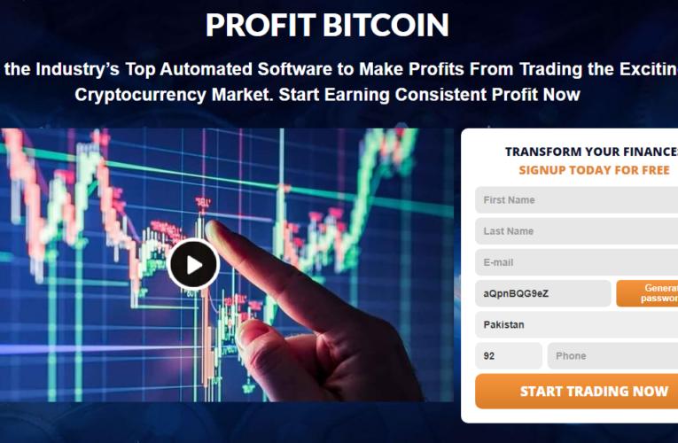 Profit Bitcoin Review 2021- ¿Legítimo o estafa? ¿Funciona realmente el software?