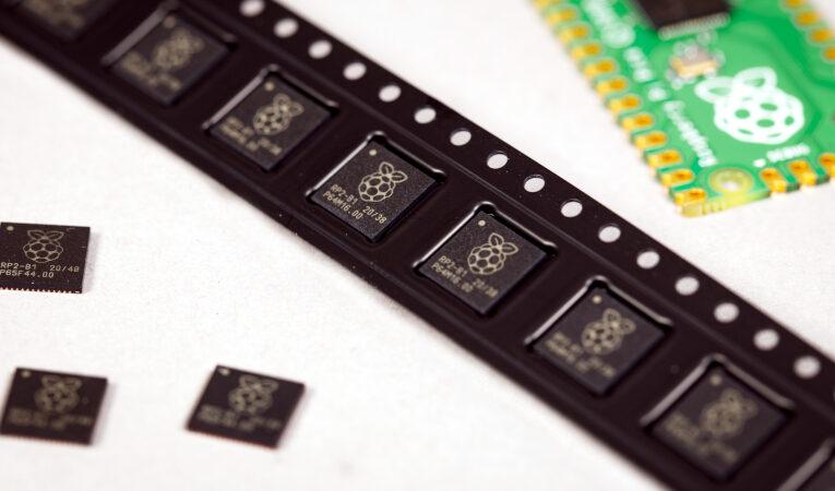 Nuevo día parcial: chips RP2040 en cantidades de una sola unidad