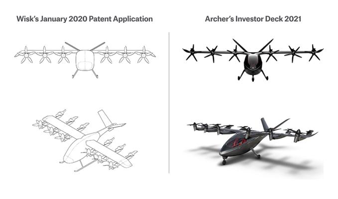Archer Aviation responde a la solicitud de orden judicial de su rival Wisk Aero en una demanda por secreto comercial
