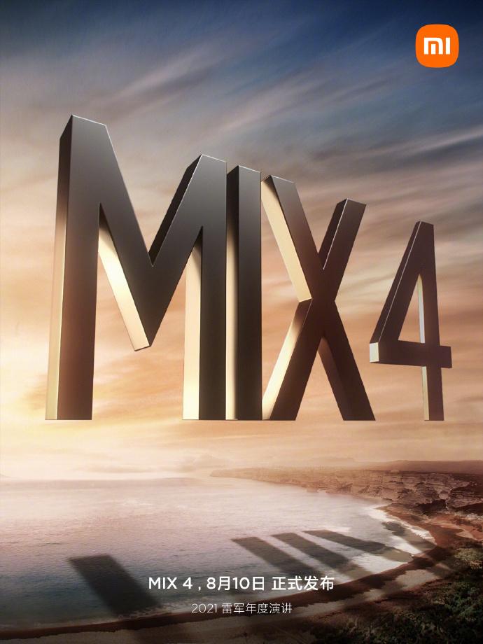 mi mix 4 teaser