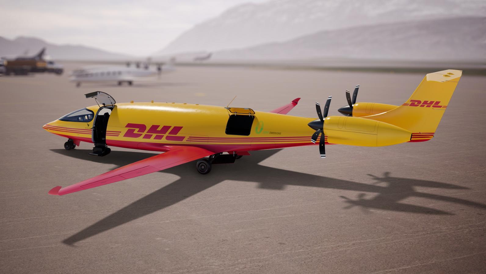DHL está construyendo la primera red de carga aérea totalmente eléctrica -  TecNoticias, tu portal de información
