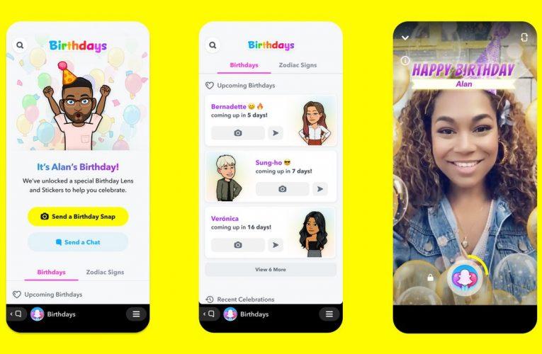Snapchat presenta un & # 039; Birthday Mini & # 039; función para hacer que los deseos de cumpleaños sean más creativos y divertidos: Cómo usarlo