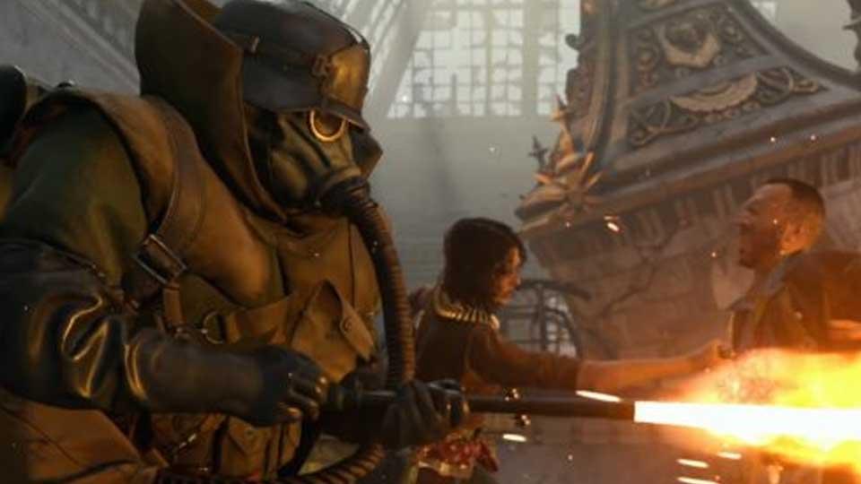 Call of Duty beta multijugador flame guy