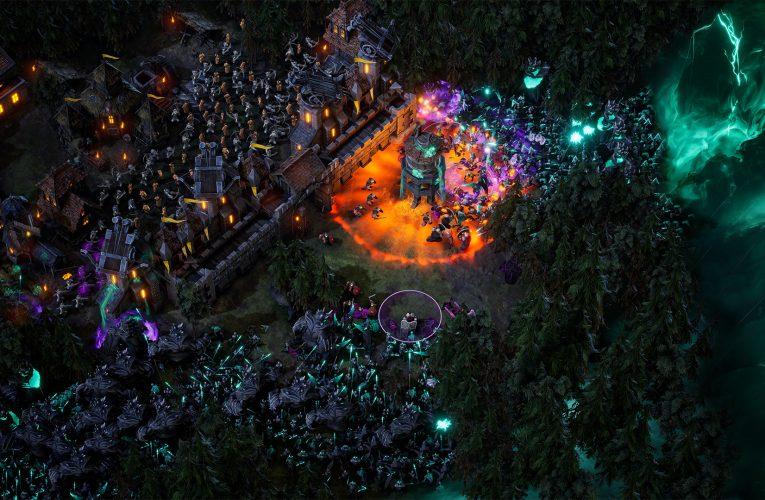 En supervivencia RTS Age of Darkness, miles de enemigos no son la única amenaza
