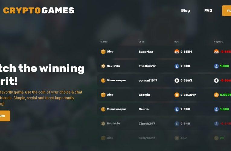 CryptoGames: ¡El mejor ejemplo de criptocasinos competentes!
